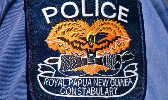 La police de Port Moresby