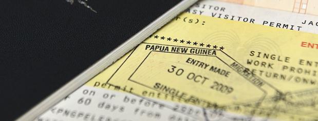 Papouasie Nouvelle Guinée Fixeur passeport
