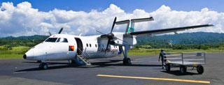 Papua New Guinea Fixer plane flight