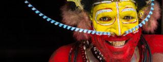 Papouasie Nouvelle Guinée Fixeur Papou Huli