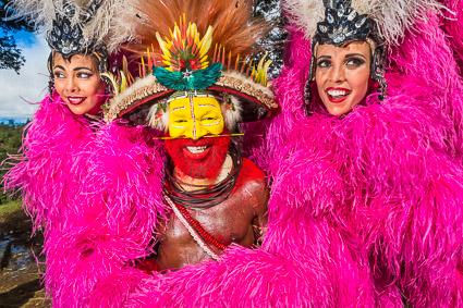 France 5 : Danse avec les Papous